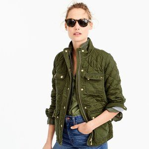 J. Crew Quilted Downtown Field Jacket - TXS